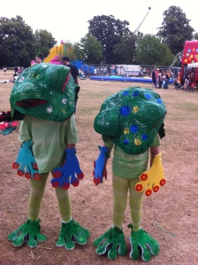 A prize winning carnival entry.
