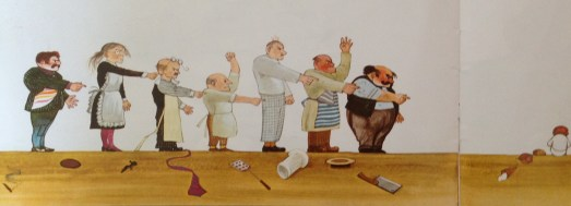 Image taken from Elephant and the Bad Baby by Elfrida Vipont, illustrated by Raymond Briggs.